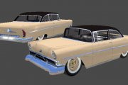 GN55_1951 Lincoln Cosmopolitan Sedan Layers