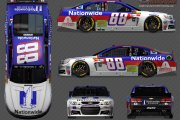 Alex Bowman #88 Nationwide (Fictional)