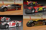 4 retro cup scheme Dirt Late Models