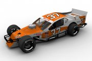 #37 Troyer Little Caesars Fictional Whelen Modified.