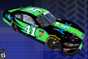*FICTIONAL* NXS20 Carl Edwards #41 Aflac Shelby