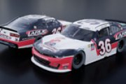 "#36 Alex Labbe - Larue / ""Hermanator"" Kenny Wallace Throwback (Darlington 1)"