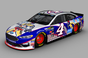 2018 Kevin Harvick Fictional MLB All Star Game Ford