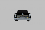GN55 1947 Ford Coupe Template