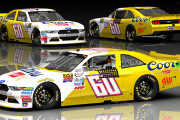 Number 60 coors banquet mustang fictional