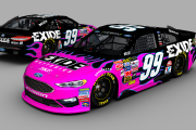(BR15 Gen 6 Mod) Fictional #99 Exide Batteries Ford