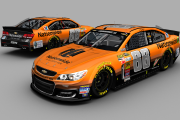 Dale Jr 2015 Halloween Inverted Colors Nationwide Chevrolet SS