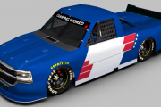 2018 Johnny Sauter ISM Connect Patriotic Silverado Base