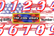 Greg Biffle Number Set