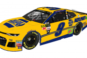 Chase Elliott 2018 Throwback