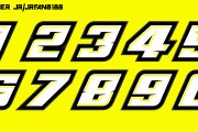 Cody Coughlin 2 GMS Numberset
