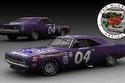 GN70v2.5 Hershel McGriff #04 Plymouth Road Runner (violet version)