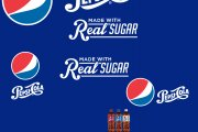 Pepsi Real Sugar Logo Set