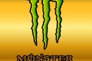 Monster energy Door Pillar logo