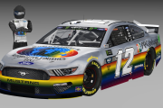 [FICTIONAL] Ryan Blaney PPG Darlington Throwback Mustang