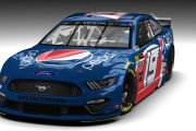 MENCS 19 FICTIONAL PEPSI MUSTANG