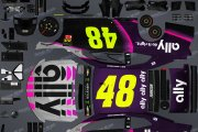 (Fictional) Jimmie Johnson Retro Scheme