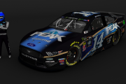2019 Clint Bowyer 14 Bristol 2 car