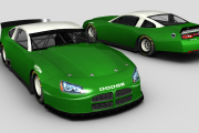 BR MCLM Dodge Charger Template