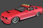 2009 Mustang Shelby GT500 Pace Car Templates