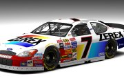 Retro 1989 Alan Kulwicki #7 Zerex Antifreeze Ford (SnG 2003-05 Mod)