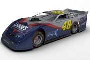 #48 Fictional Jimmie Johnson Dirt Late Model