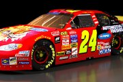 Retro 1997 Jeff Gordon Dupont Jurassic Park Chevrolet (The T-Rex Special) (SnG 2003-05 Mod)