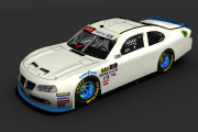 Pontiac G8 Template for the NascarFunFacts 2020GNS Mod