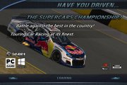 Supercars Championship Splash Screen & Mainback
