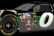 Cup 03-05 Paint Schemes - Ward Burton MBNA Throwback Fictional