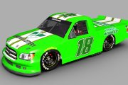 Fictional Joe Gibbs Racing #18 Virginia Lottery Truck
