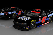 Kyle Weatherman #47 BackTheBlue Homestead (NXS17 ONLY)