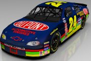 1999 Ricky Hendrick DuPont Automotive Finishes Chevy Monte Carlo
