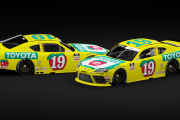 2020 Brandon Jones #19 Toyota Throwback