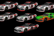 Harrison Burton #20 and #18 Car set (NXS20)