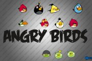 Angry Birds Logo + Characters