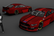 Ford Mustang base (red)