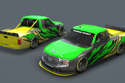 Lime and Yellow Ford CWS15 Base