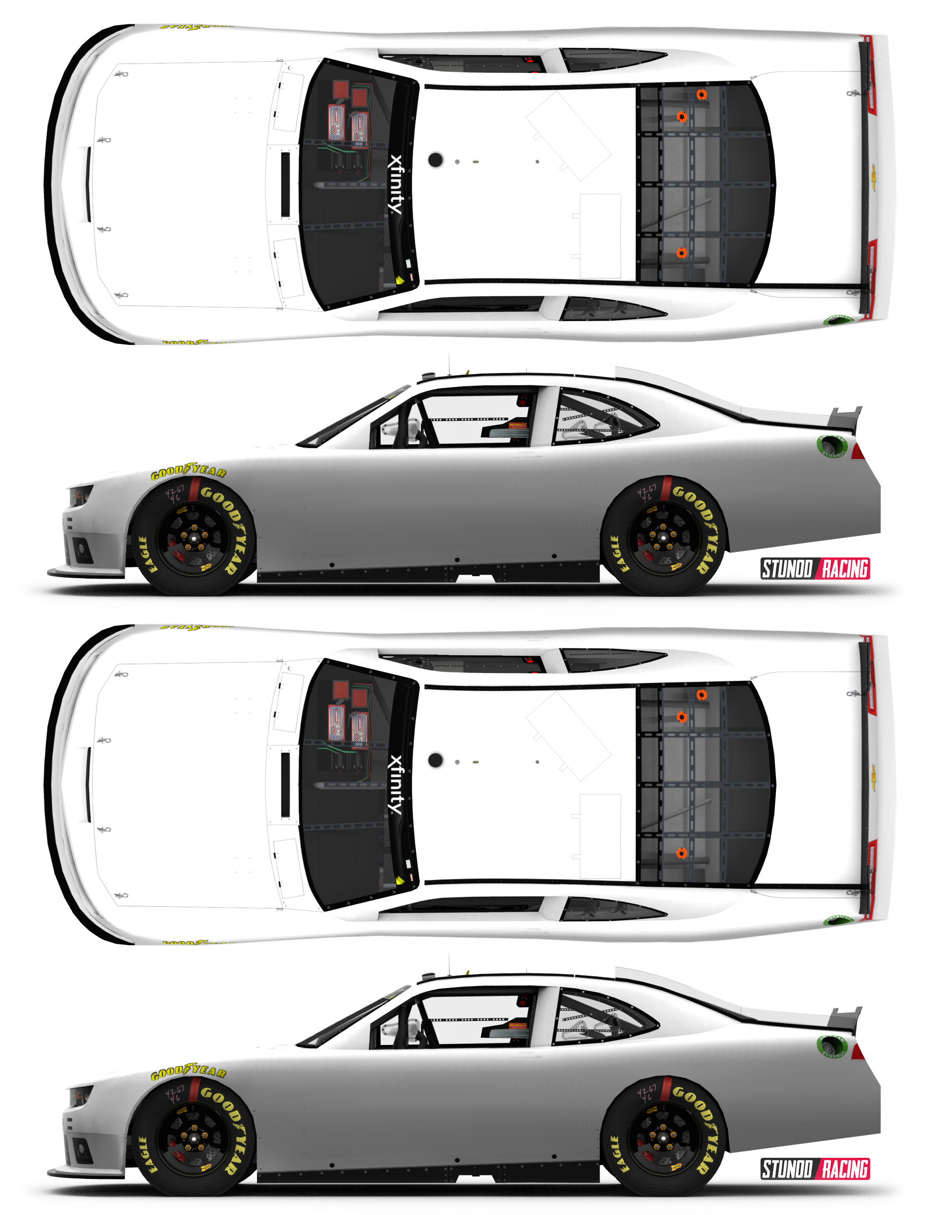Nascar blank car templates circuit diagram maker for Blank race car templates