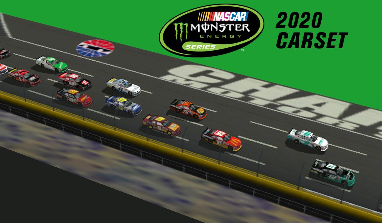 2020 Monster Energy Series Carset   Stunod Racing