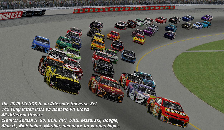 2019 MENCS Alternate Universe Set   Stunod Racing