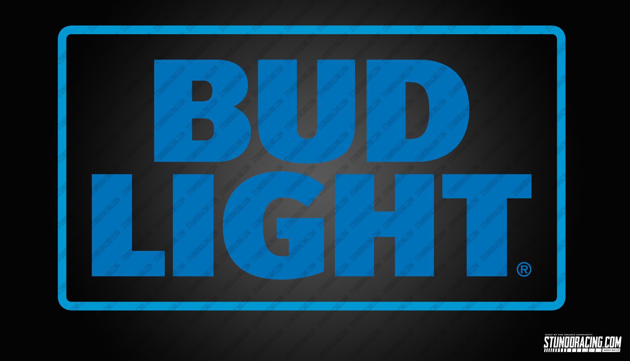 Bud Light Logo   Stunod Racing